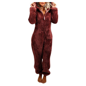 Winter Warm Overall Suit