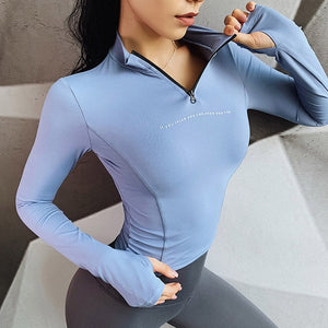 Long Sleeve Yoga Shirts