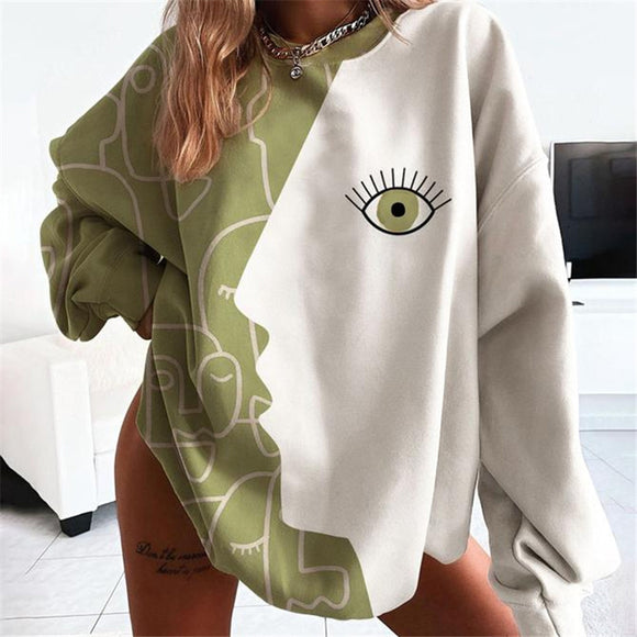 New 2021 Printed Chic Pullover