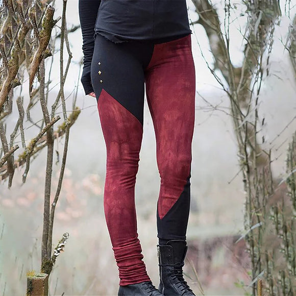 Elastic waist Casual Long Boot Pants