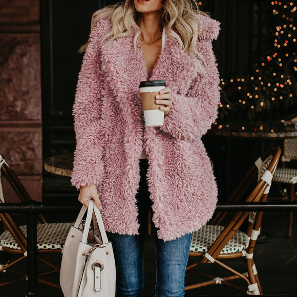 Warm Faux-fur Coat