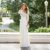 Pleated Trendy Lace Long Skirt