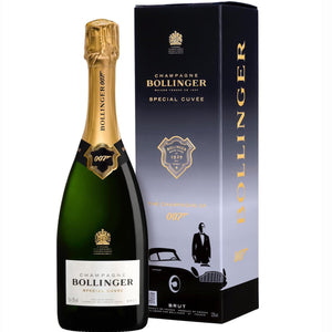 Champagne Bollinger 007 James Bond Special Cuvée Gift Boxed 75cl