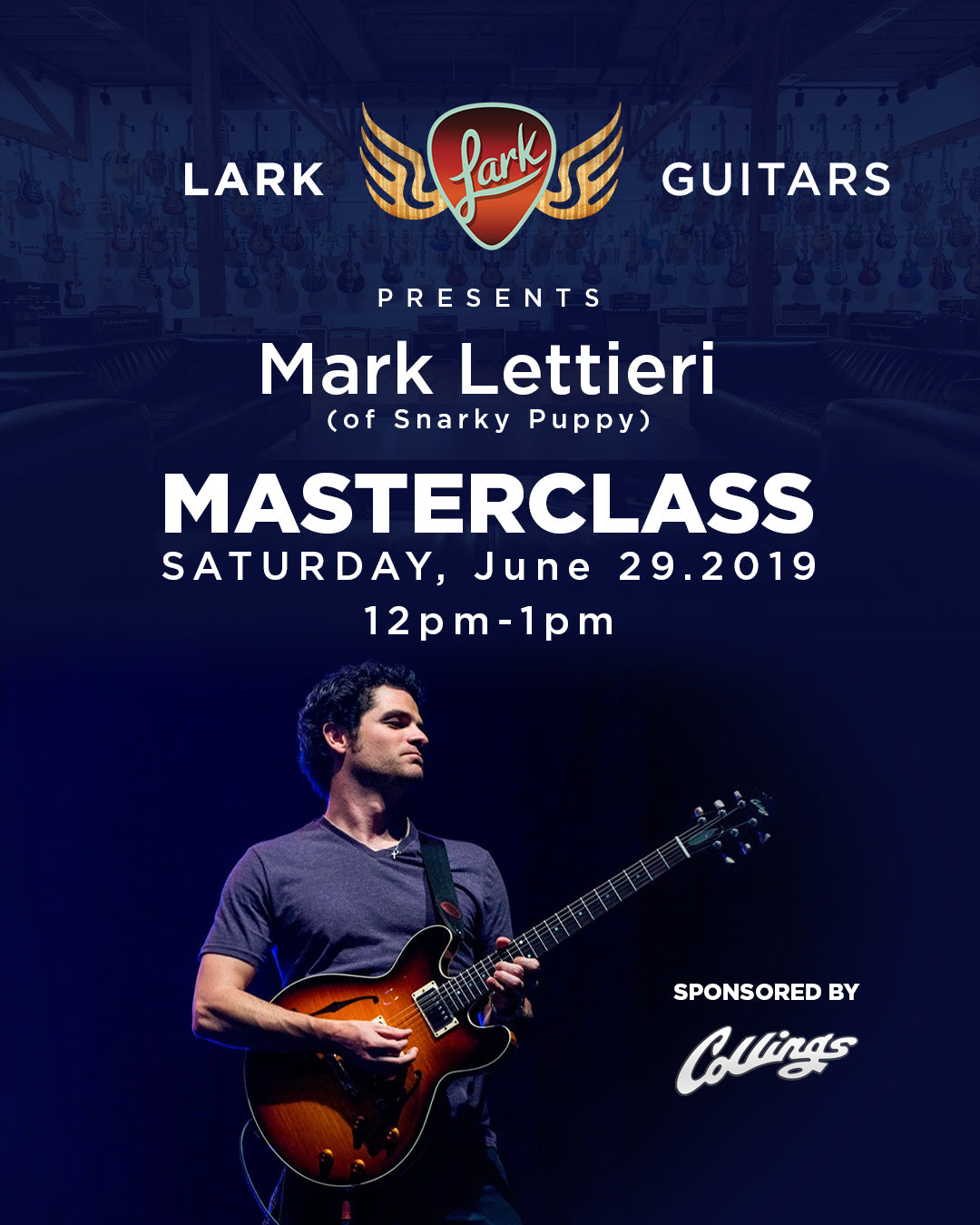 Lark Guitars Event Mark Lettieri