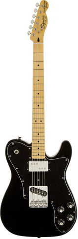Fender Squier Vintage Modified Telecaster Custom MN - Black (147) - Available at Lark Guitars
