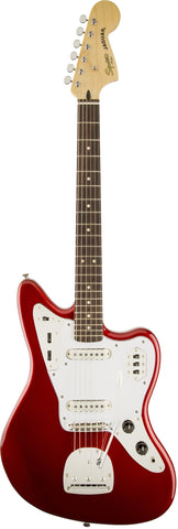 Fender Squier Vintage Modified Jaguar RW - Candy Apple Red (406) - Available at Lark Guitars