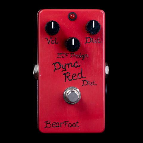 BearFoot FX Dyna Red Distortion 3-Knob