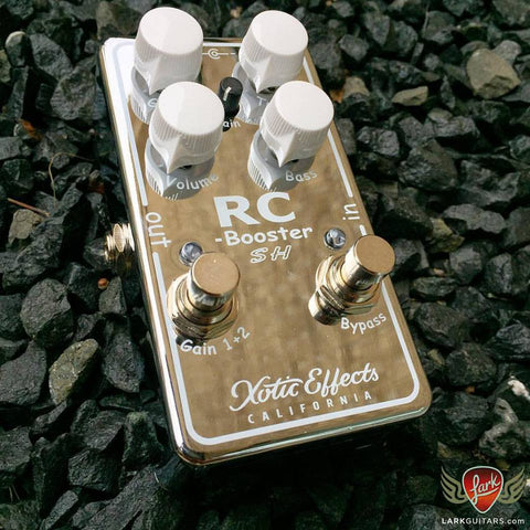 Xotic Effects Limited Edition RCB-SH RC Booster Scott Henderson Signature - Chrome