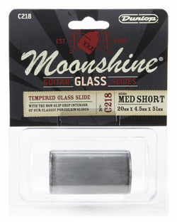 Dunlop C218 Moonshine Glass Slide - Medium Short - Available at Lark Guitars