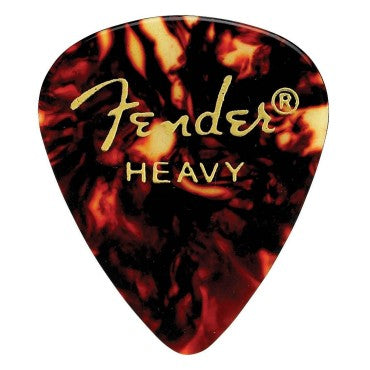 Fender 351 Shape Premium Tortoise Shell Picks - Heavy - Available at Lark Guitars