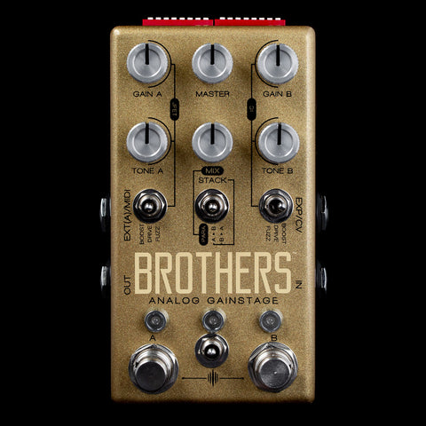 Chase Bliss Audio Brothers Two-Channel Analog Gainstage