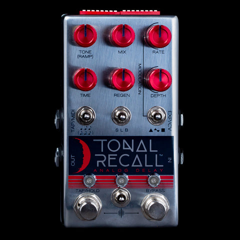 Chase Bliss Audio Tonal Recall Red Knob (RKM)