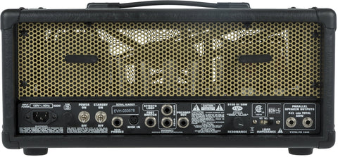 EVH 5150 III EL34 50-watt Head - Black & Gold (097) - Available at Lark Guitars