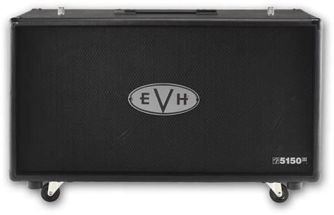 EVH 5150 III 2x12 Cabinet - Black (504) - Available at Lark Guitars