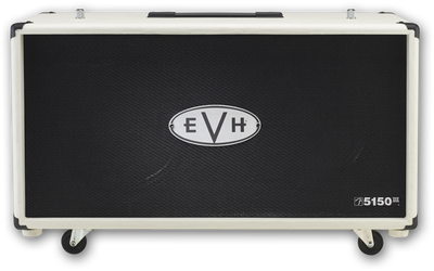 EVH 5150 III 2x12 Cabinet - Ivory - Available at Lark Guitars