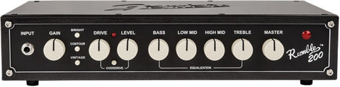 Fender Rumble 200 V3 Bass Head - Available at Lark Guitars