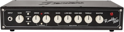 Fender Rumble 500 V3 Bass Head - Available at Lark Guitars