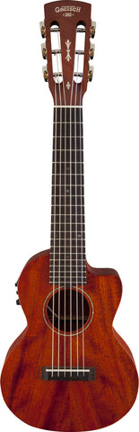 Gretsch G9126-ACE Guitar-Ukulele Acoustic-Cutaway-Electric w/Gig Bag - Natural (626) - Available at Lark Guitars
