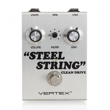 Vertex Steel String Clean Drive - Available at Lark Guitars