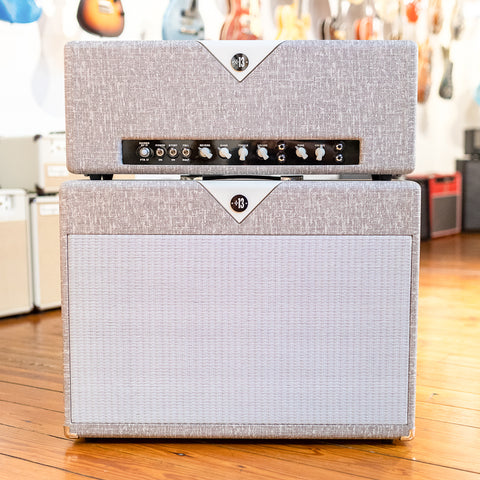 Divided By 13 FTR 37 Head & 2x12F Cab w/G12H30 & Alnico Blue - Fawn Slub & Egg Shell