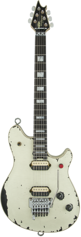zSOLD - EVH Wolfgang USA Custom Limited Tour Relic Replica - Ivory