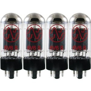 JJ Electronic 6V6 Power Tubes - Matched Quad - 6V6S