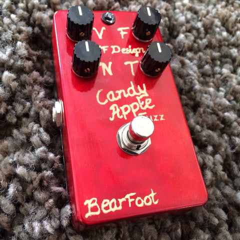 BearFoot FX Candy Apple Fuzz Gold
