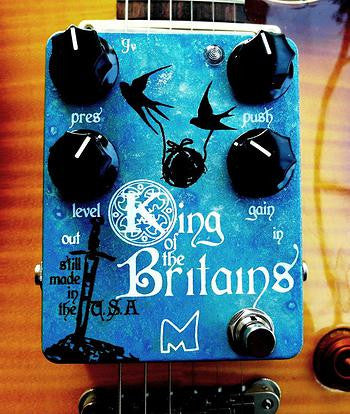 Menatone King of the Britains Mk3 Overdrive/Distortion