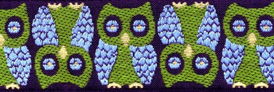 Souldier Owls Strap - Green/Blue