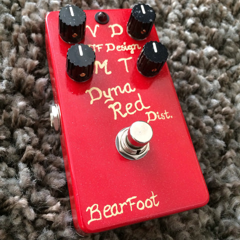 BearFoot FX Dyna Red Distortion 4-Knob