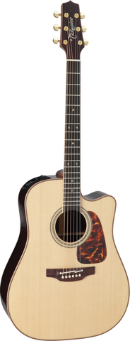 Takamine Pro Series 7 P7DC Dreadnaught Cutaway Acoustic Electric - Natural (750)