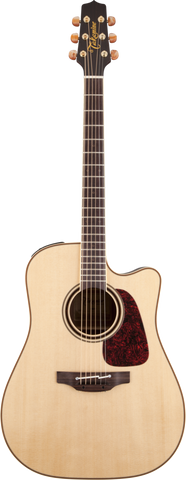 Takamine Pro Series 4 P4DC Dreadnaught Cutaway Acoustic Electric - Natural (105)