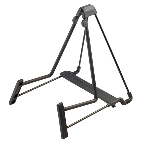 K&M 17580 Heli Acoustic Guitar Stand - Available at Lark Guitars