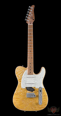 Tom Anderson Top T Classic, Hollow, Shorty - Natural Yellow Sun