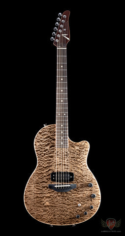 Tom Anderson Crowdster Quilt Maple on Mahogany - Natural Mocha