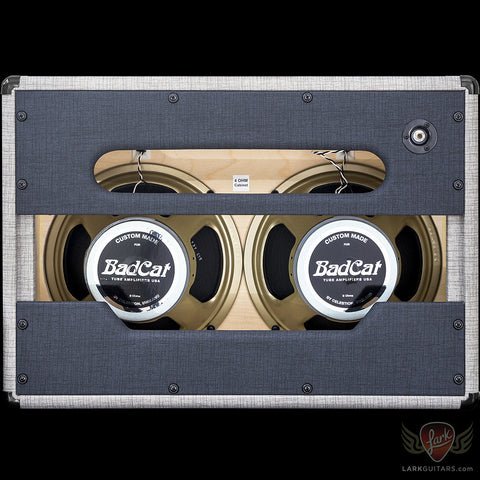 Bad Cat 2x12 Standard Extension Cabinet - Classic Deluxe Limited Wrap (198), Bad Cat Amplifiers - Lark Guitars