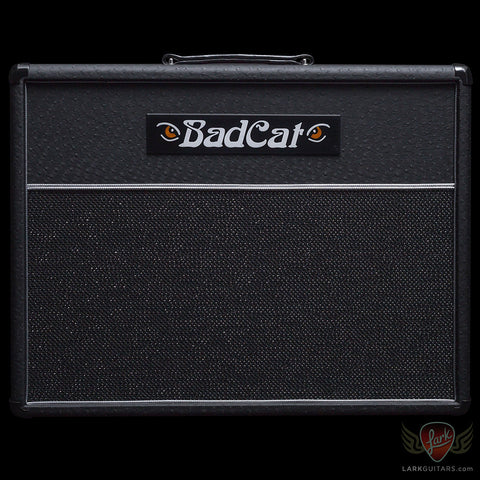 Bad Cat 1x12 Standard Extension Cabinet - Black Ostrich w/Black Grill (328), Bad Cat Amplifiers - Lark Guitars