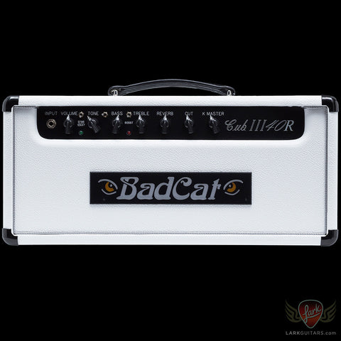 Bad Cat Cub III 40R Head - White Tolex (261), Bad Cat Amplifiers - Lark Guitars