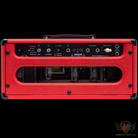 Bad Cat Hot Cat 30 Head - Red & Black Tolex (363)