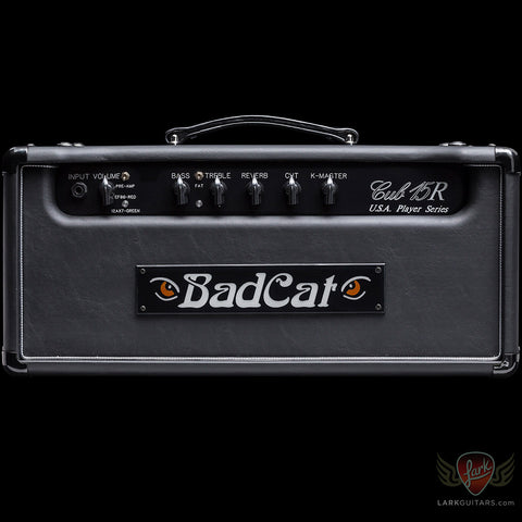 zSOLD - Bad Cat Player Series Cub III 15-watt Head - Black Vinyl (681), Bad Cat Amplifiers - Lark Guitars
