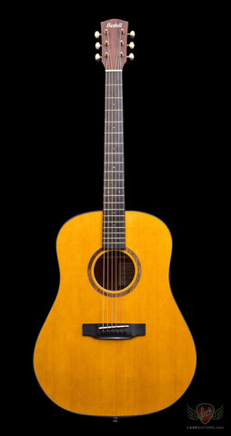 Bedell 1964 Series Dreadnought - Natural Gloss Nitro (069), Bedell Guitars - Lark Guitars