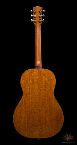 Bedell 1964 Series Parlor - Natural Gloss Nitro (065), Bedell Guitars - Lark Guitars