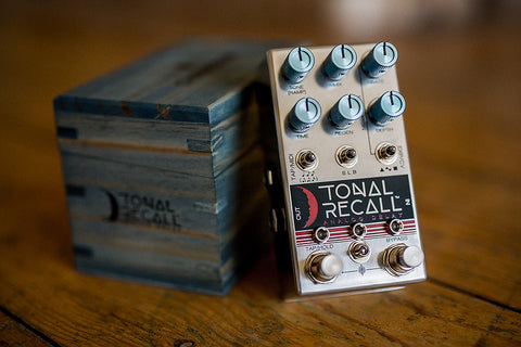 Chase Bliss Audio Tonal Recall Analog Delay - Available at Lark Guitars