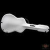 Calton Dreadnought Guitar Case - White w/Red Interior (596) - Available at Lark Guitars