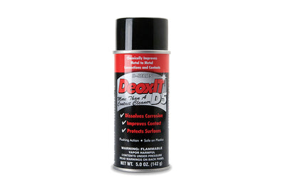Hosa D5S-6 DeoxIT D5 5.0 oz Contact Cleaner - Available at Lark Guitars