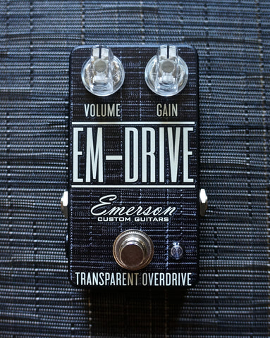 Emerson Custom EM-Drive Transparent Overdrive - Smoke Chilewich
