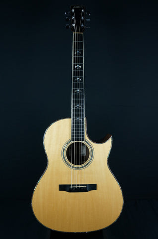 zSOLD - Pre-Owned Larrivee C-10 Acoustic Electric - Natural (334)