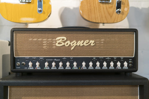 Pre-Owned Bogner Ecstasy 101B Head - Black w/Wheat Grill (147), Pre-Owned Amplifiers - Lark Guitars