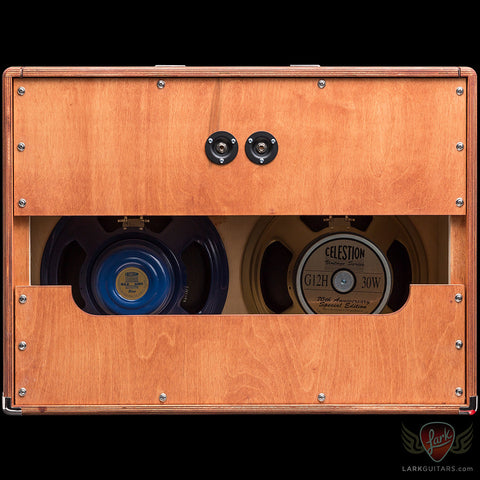 Divided By 13 2x12F Cabinet w/G12H30 & Alnico Blue - Mahogany Cargo (005)