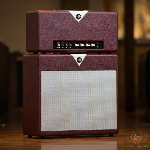 Divided By 13 CCC 9/15 Head & 1x12F Cab w/G12H30 - Cabernet & Egg Shell (125Y) - Available at Lark Guitars
